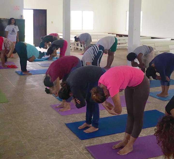Summer Women's Health Yoga Workshop at Kolbe Foundation – Belize Central Prison
